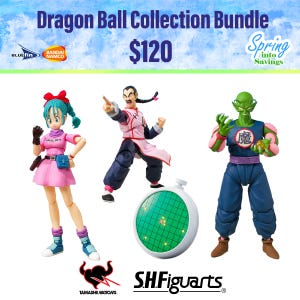 Spring Savings 2021 Dragon Ball Bundle