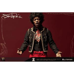 "Jimi Hendrix ""Jimi Hendrix"", Blitzway Premium UMS (1/6th Scale Action Figure)"