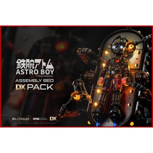 """Astro Boy Assembly Bed DX Pack (Clear ver. and Assembly Bed Pack) """"Astro Boy"""", Blitzway Superb Anime Statue (Non Scale)"""