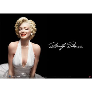 "Marilyn Monroe ""Marilyn Monroe"", Blitzway 1/4 Superb Scale Statue"