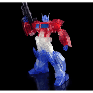 "Optimus Prime IDW (Clear Ver) ""Transformers"", Flame Toys Furai Model"