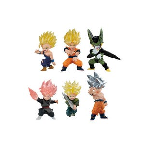 "Dragon Ball Adverge Motion Set ""Dragon Ball Super"", Bandai Adverge"