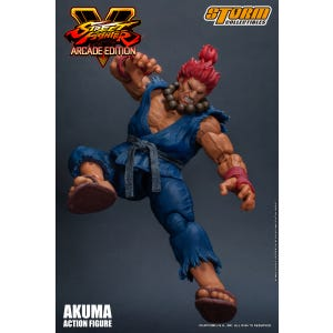 "Akuma (Nostalgia Costume) ""Street Fighter V"", Storm Collectibles 1/12 Action Figure"