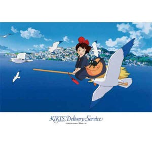 "108-252 Kiki Saying Hello to Seagulls ""Kiki Delivery Service"", Ensky Puzzle"