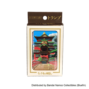 "Spirited Away Movie Scenes Playing Cards ""Spirited Away"", Ensky Playing Cards"