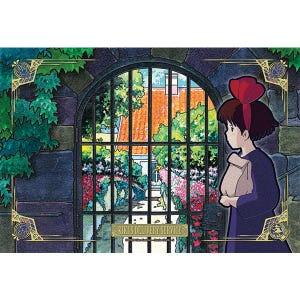 "300-AC041 Artcrystal Kiki on the way to delivery Puzzle ""Kiki's Delivery Service"", Ensky Artcrystal Puzzle"