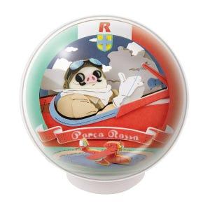"""PTB-12 Porco Rosso Airplane Piloting Porco Rosso Paper Theater Ball """"Porco Rosso"""", Ensky Paper Theater"""