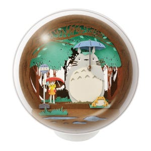 """PTB-10 My Neighbor Totoro At the Bus Stop Paper Theater Ball """"My Neighbor Totoro"""", Ensky Paper Theater"""