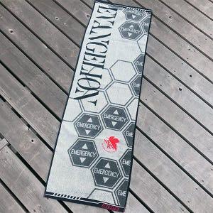 "NERV EMERGENCY Sports Towel ""Evangelion"", Marushin Towel"