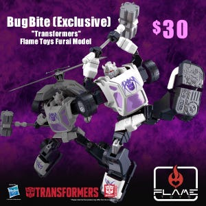 "BugBite (Exclusive) ""Transformers"", Flame Toys Furai Model"