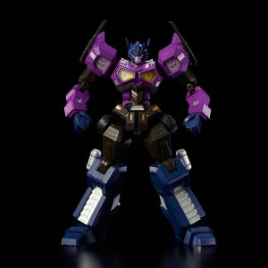"""Shattered Glass Optimus Prime (Attack Mode) """"Transformers"""", Flame Toys Furai Model"""