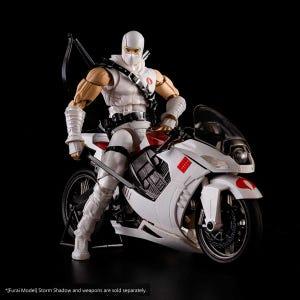 "Arashikage Cycle (for Storm Shadow) ""GI Joe"", Flame Toys Furai Model"