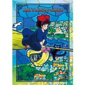 """208-AC13 Flying Kiki """"Kiki's Delivery Service"""", Ensky Artcrystal Jigsaw"""