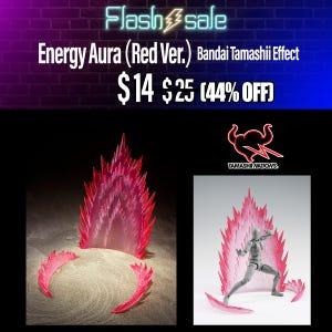 Energy Aura (Red Ver.), Bandai Tamashii Effect