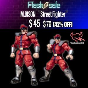 "M.BISON ""Street Fighter"", Bandai S.H.Figuarts"