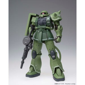 "MS-06C Zaku II Type C ""Mobile Suit Gundam: The Origin"", Bandai Gundam Fix Figuration Metal Composite"