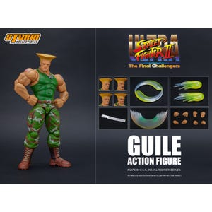 "Guile ""Street Fighter"", Storm Collectibles 1:12 Action Figure"