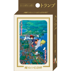 "Kiki's Delivery Service Movie Scenes Playing Cards ""Kiki's Delivery Service"", Ensky Playing Cards"