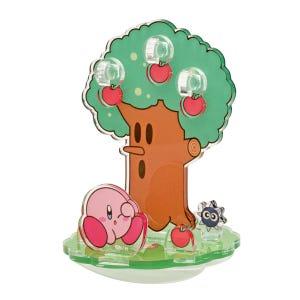 "Whispy Woods (Kirby and Gordo) Kirby Moving Acrylic Diorama Stand ""Kirby"", Ensky Diorama"