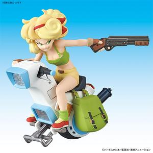 "Vol. 3 Launch's One-Wheel Motorcycle ""Dragon Ball"", Bandai Mecha Collection"