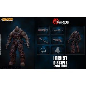"Locust Disciple ""Gears of War"", Storm Collectibles 1/12 Action Figure"