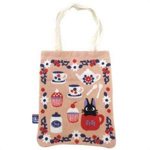 "Jiji Time for Tea Tote Bag ""Kiki's Delivery Service"", Marushin Tote"