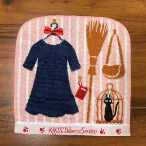 """Kiki's Outfit Mini Towel """"Kiki's Delivery Service"""", Marushin Towels"""