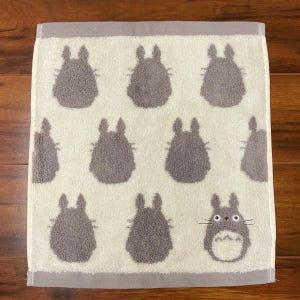 "Totoro Silhouette Wash Towel ""My Neighbor Totoro"", Marushin Towels"