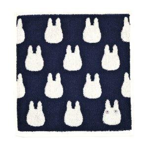 "Small White Totoro - Studio Ghibli Silhouette Series (Wash Towel) ""My Neighbor Totoro"", Marushin Silhouette Towel Series"