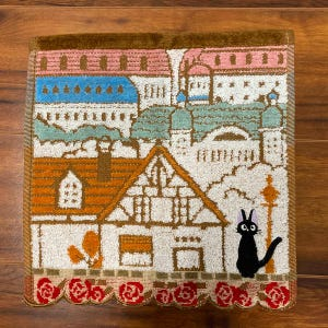 "Jiji City of Koriko Mini Towel ""Kiki's Delivery Service"", Marushin Towels"