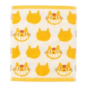 "Catbus - Studio Ghibli Silhouette Series (Wash Towel) ""My Neighbor Totoro"", Marushin Silhouette Towel Series"