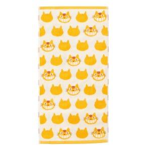 "Catbus - Studio Ghibli Silhouette Series (Bath Towel) ""My Neighbor Totoro"", Marushin Silhouette Towel Series"