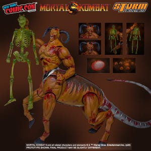 "Motaro *NYCC 2020 Exclusive* ""Mortal Kombat"", Storm Collectibles 1:12 Action Figure"