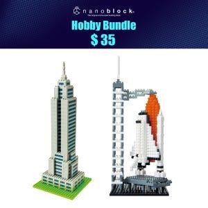 NYCC 2021 Nanoblock Hobby Bundle