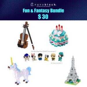 NYCC 2021 Nanoblock Fun & Fantasy Bundle