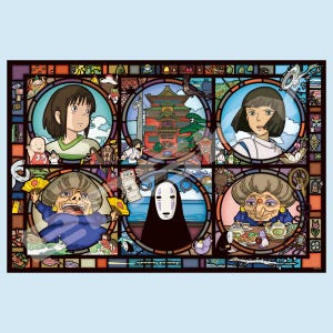 """News from a Mysterious Town Spirited Away Artcrystal Puzzle (1000-AC016) """"Spirited Away"""", Ensky Puzzle"""
