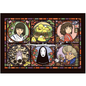 "208-AC15 No-Face ""Spirited Away"", Ensky Artcrystal Jigsaw"