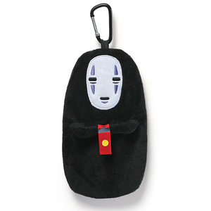 "No Face Plush Pouch Clip ""Spirited Away"", Sun Arrow Plush"