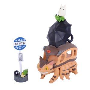 "NOS-51 My Neighbor Totoro Catbus Nosechara Assortment ""My Neighbor Totoro"", Ensky Stacking Figure"