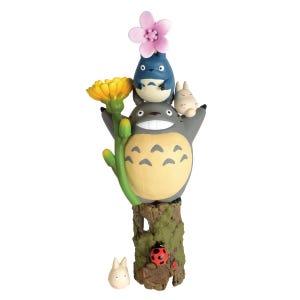 "NOS-81 My Neighbor Totoro Flowers Nosechara Assortment ""My Neighbor Totoro"", Ensky Stacking Figure"