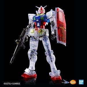 "RX-78-2 Gundam Beyond Global (Clear Color Ver.) ""Gundam"", Bandai Spirits HGUC 1/144"