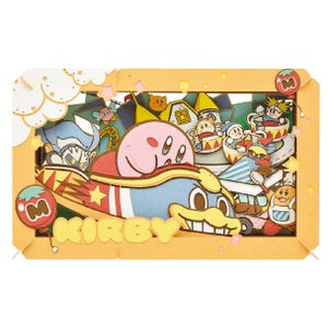 """Kirby PuPuPu Park! Large Paper Theater (PT-L14 ) """"Kirby"""", Ensky Paper Theater"""