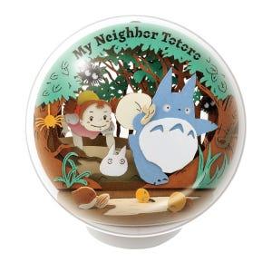 "PTB-01 My Neighbor Totoro Secret Tunnel Paper Theater Ball ""My Neighbor Totoro"", Ensky Paper Theater"