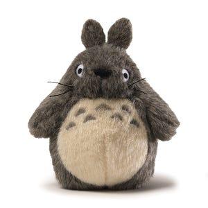 """7"""" Grey Classic Big Totoro Plush """"My Neighbor Totoro"""", Sun Arrow Plush"""