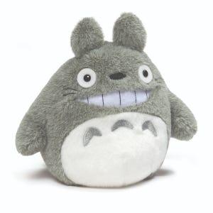 """5.5"""" Smiling Totoro Plush """"My Neighbor Totoro"""", Sun Arrow Plush"""