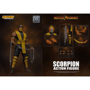 "Scorpion *2020 Event Exclusive* ""Mortal Kombat"", Storm Collectibles 1/12 Action Figure"