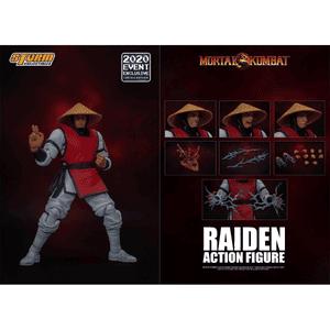 "Raiden *2020 Event Exclusive* ""Mortal Kombat"", Storm Collectibles 1:12 Action Figure"