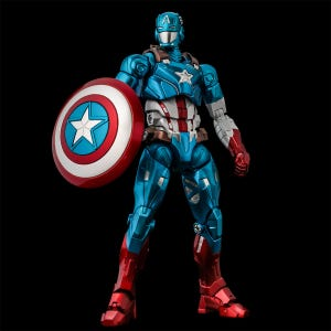 "Captain America ""Marvel"", Sentinel Fighting Armor"