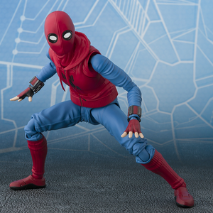 "Spider-Man (Home Made Suit Ver.) & Tamashii Option Act Wall ""Spider-Man: Homecoming"", Bandai S.H.Figuarts"