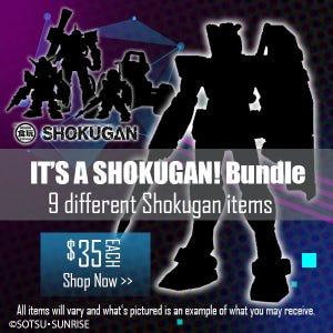 Gundam Online Expo Shokugan Bundle